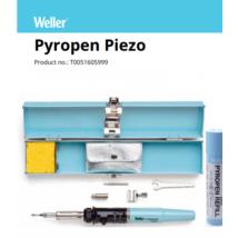 Ciocan de lipit cu gaz Weller Pyropen Piezo